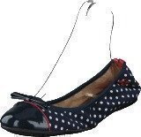 Butterfly Twists Cara Navy / Wht Polka Dot
