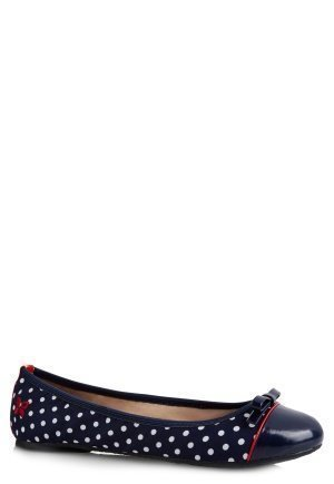 Butterfly Twists Cara Navy/Wht Polka Dot