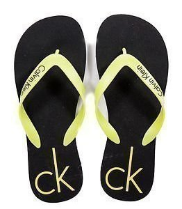 Calvin Klein Flip Flop Black/Lime