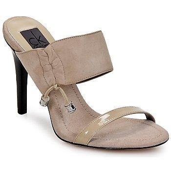 Calvin Klein Jeans Fancy Kid Suede Soft Patent sandaalit