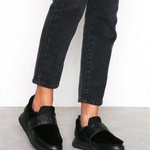 Calvin Klein Jeans Rachel Soft Nappa / Fur Tennarit Musta