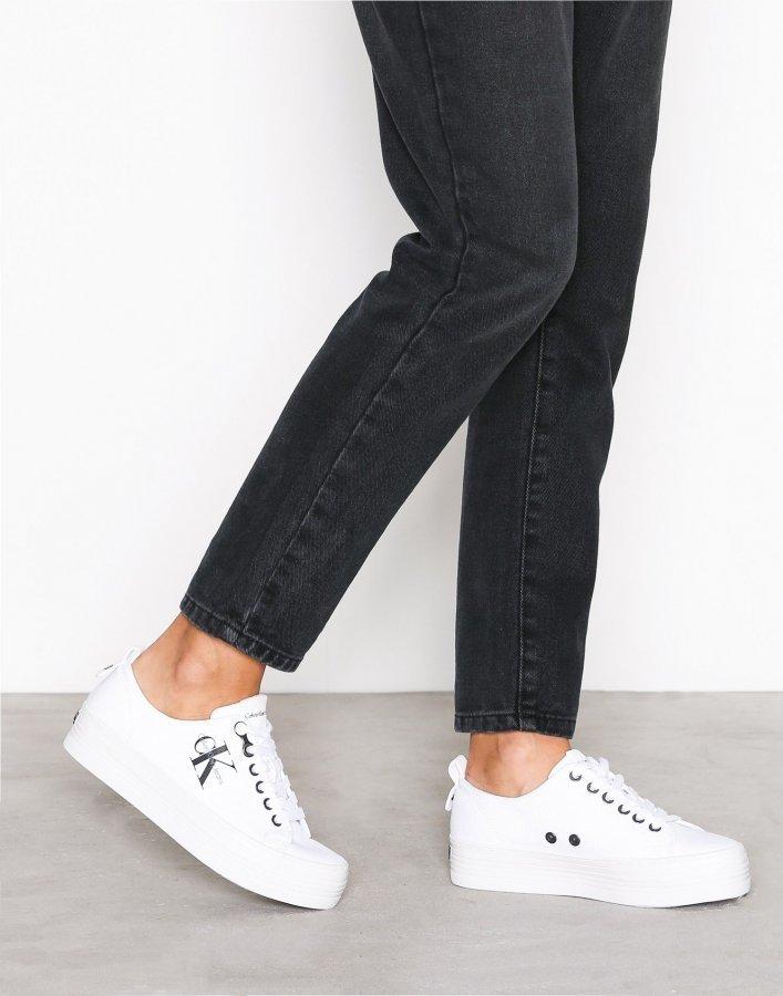 Calvin Klein Jeans Zolah Canvas Tennarit Valkoinen