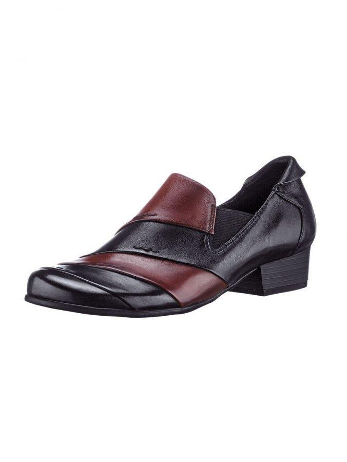 Caprice Kengät Musta / Viininpunainen