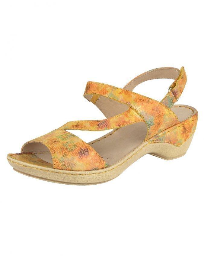 Caprice Sandaalit Keltainen / Monivärinen