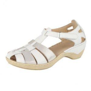 Caprice Sandaalit Valkoinen / Hopeanvärinen