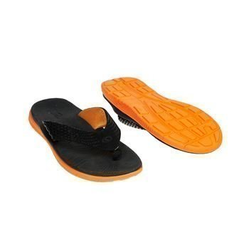 Catmandoo Mundo Flipflops Black Orange