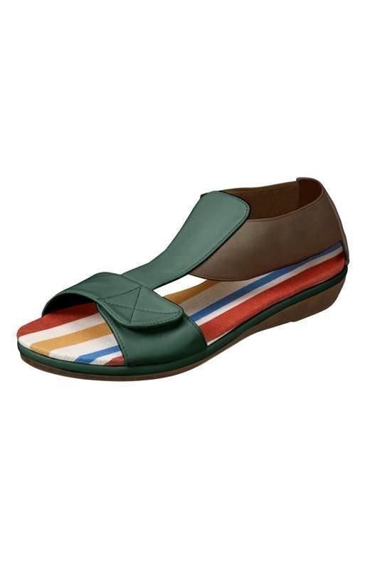Cellbes Sandaalit Khakivihreä