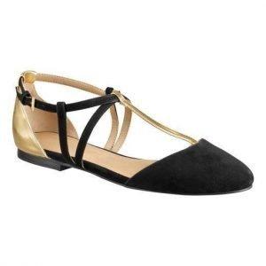 Cellbes Sandaalit Musta Kulta
