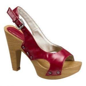 Cellbes Sandaletit Punainen