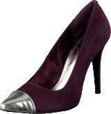 China Girl Pointy Pumps Purple