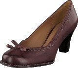 Clarks Bombay Lights Burgundy Leather