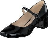 Clarks Chinaberry Pop Black Patent