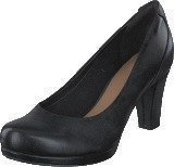 Clarks Chorus Chic Black Leather