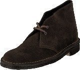 Clarks Desert Boot. Brown Sde
