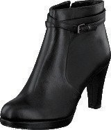 Clarks Kendra Shell Black Leather