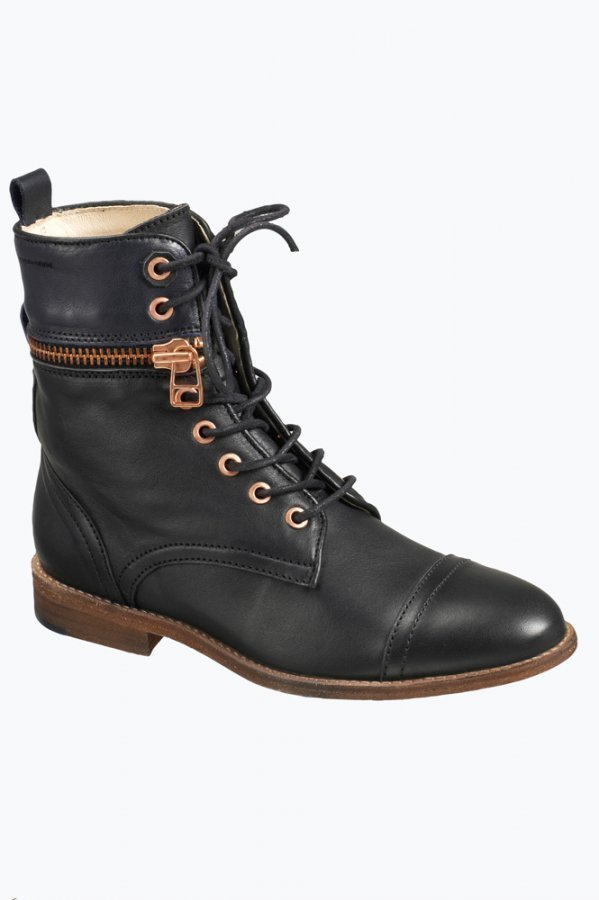 Close By Denim The Lace Up Boot Nilkkurit