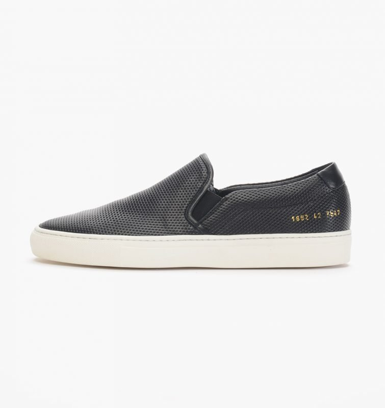 Common Projects Slip On Perforated Leather