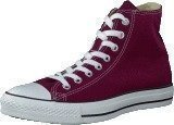 Converse All Star Canvas Hi Maroon