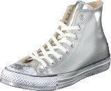 Converse All Star-Hi Silver/White/Black