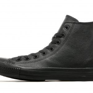 Converse All Star High Leather Mono Black Monochrome