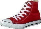Converse All Star Kids Hi Red