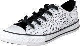 Converse All Star Kids Ox Black/White/Black