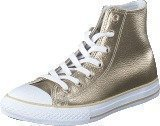 Converse All Star Metallic-Hi Light Gold/White/White