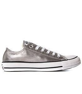 Converse All Star Metallics Ox Gunmetal/White/Black