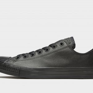 Converse All Star Ox Leather Mono Musta