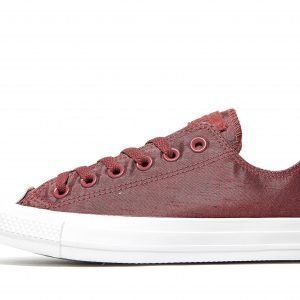 Converse All Star Ox Satin Burgundy / White