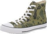 Converse All Star Print Camo Hi Olive Branch