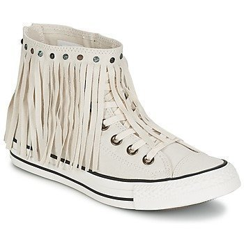 Converse CHUCK TAYLOR ALL STAR FRINGE ACID WASH DENIM HI korkeavartiset tennarit