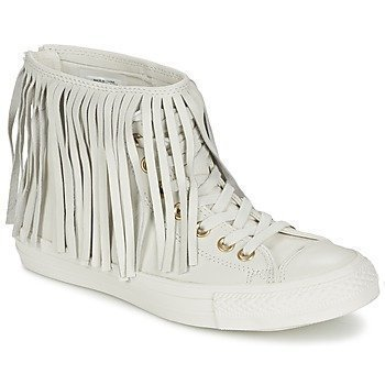 Converse CHUCK TAYLOR ALL STAR FRINGE LEATHER HI korkeavartiset tennarit