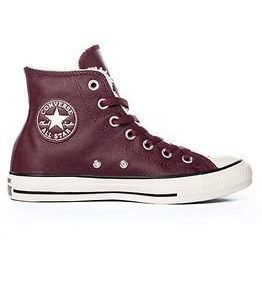 Converse CT Hi Deep Bordeaux