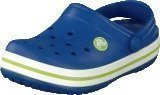 Crocs Crocband Kids Cerulean Blue-Volt Green