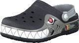 Crocs Crocband Lights Robo Shark PS Black/Silver