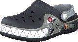 Crocs Crocband Lights Robo Shark PS Black/Silver