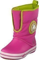 Crocs CrocsLights Gust Boot PS Party Pink/Volt Green