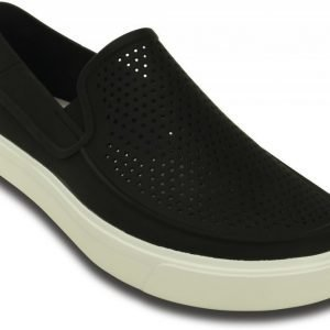 Crocs Loaferit Miehille Musta CitiLane Roka Slip-on