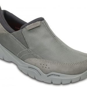 Crocs Loaferit Miehille Musta Swiftwater Edge Moc