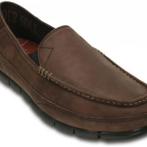 Crocs Loaferit Miehille Ruskea Stretch Sole Leather