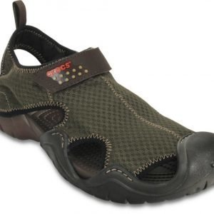 Crocs Loaferit Miehille Ruskea Swiftwater