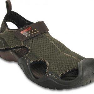 Crocs Loaferit Miehille Ruskea Swiftwater