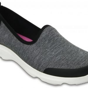 Crocs Loaferit Naisille Grey Carbon Kinsale Static Lace