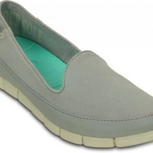 Crocs Loaferit Naisille Harmaa Stretch Sole Skimmer
