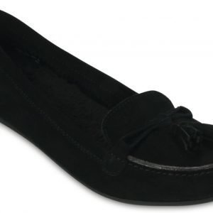 Crocs Loaferit Naisille Musta Lina Lined