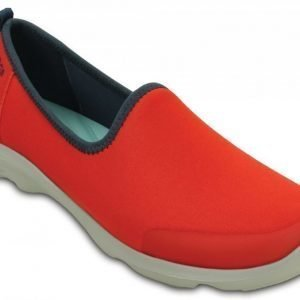 Crocs Loaferit Naisille Punainen Busy Day Stretch Skimmer