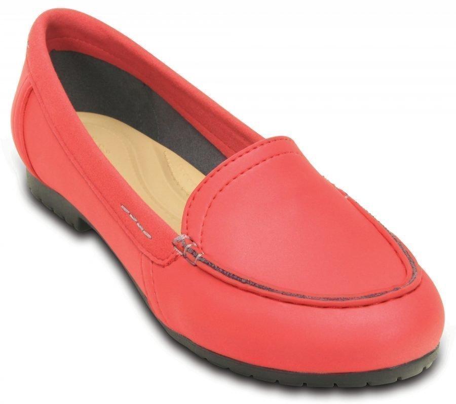 Crocs Loaferit Naisille Punainen Marin ColorLite
