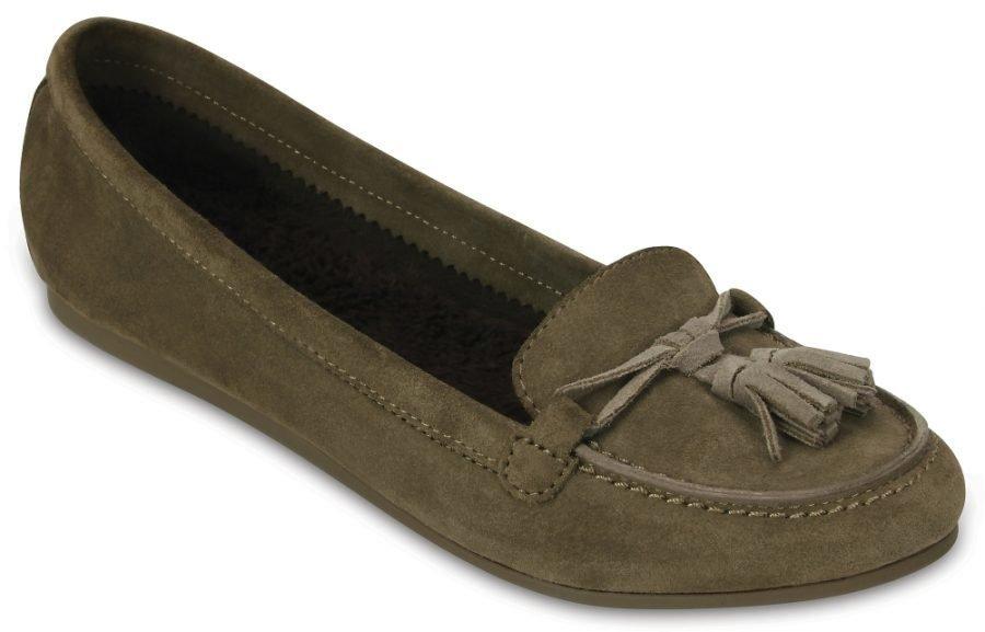 Crocs Loaferit Naisille Ruskea Lina Lined
