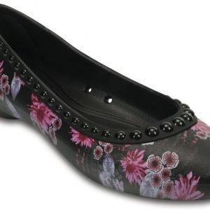Crocs Matalat Naisille Musta Lina Luxe